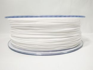 Cina 1.75mm PETG Black Filament 1kg (2.2lb), Printer Filg 3D Filamen Solid White pemasok