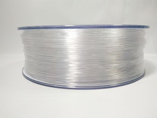 Cina 3D 1.75mm PETG 3D Printer Filament 1kg (2.2lb), 1.75mm Transparent Filament pemasok