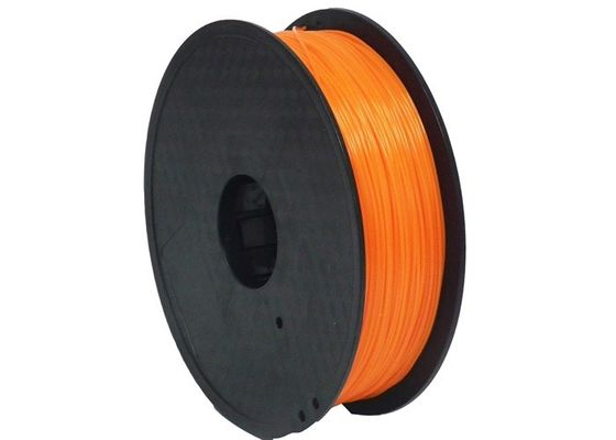 TPE / TPU / Soft PLA Printer 3D Fleksibel Filamen 1.75mm CE Colorful Disetujui