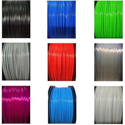 Cina Multi Color 1kg 1.75mm Diameter TPE TPU 3D Printer Filament Abrasion Resistant Distributor